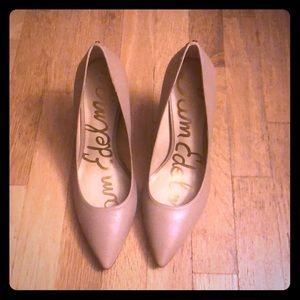 Sam Edelman tan heels 9.5W